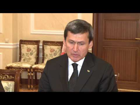 Întrevedere cu delegația din Turkmenistan