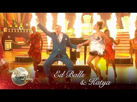 Ed Balls & Katya Jones Jive to 'Great Balls of Fire' by Jerry Lee Lewis - Strictly 2016: Blackpool