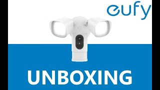 Unboxing Eufy Floodlight Camera