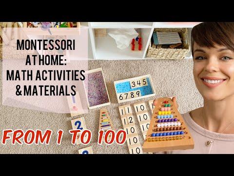 Montessori At Home Preschool Math Materials And Activities