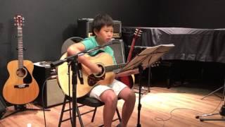 エレファントカシマシの『悲しみの果て』をアコギ弾き語りしました。音楽教室のサマーフェスにて。