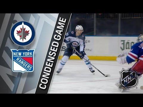 Winnipeg Jets vs New York Rangers March 6, 2018 HIGHLIGHTS HD