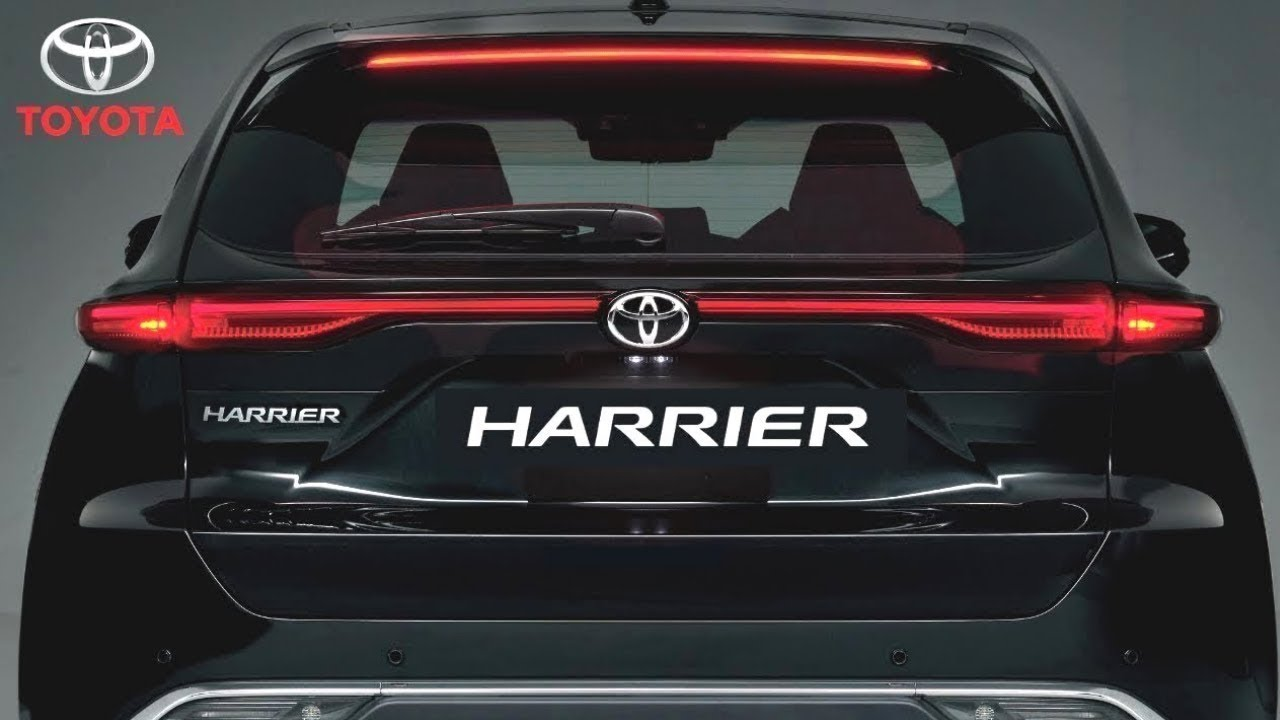 2021 New Toyota Harrier Uocoming SUV India - Launch Date ...