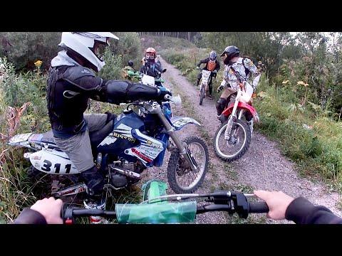 Покатушки С Пацанами на Питбайках и Мотоциклах [GoPro]