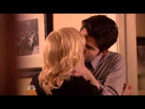 Image result for Ben and Leslie kiss