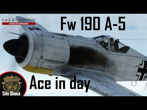 My new favourite toy | Fw 190 A-5 | IL-2: Battle of Stalingrad/Kuban