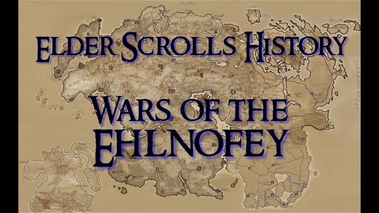 SKYRIM: Wars of the Ehlnofey [Elder Scrolls Lore - the Dawn Era]