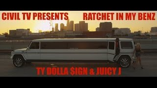 "Ty Dolla $ign f/ Juicy J - ""Ratchet In My Benz"" (Official Video)"
