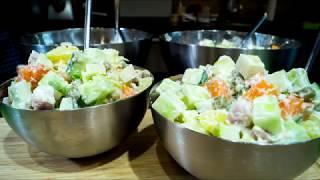 Салат с грушей.Овощерезка  STATUS 108075