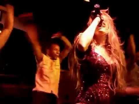 Erika Jayne - Stars & Roller Coaster (Live) - NYC Club - 09 12 2009
