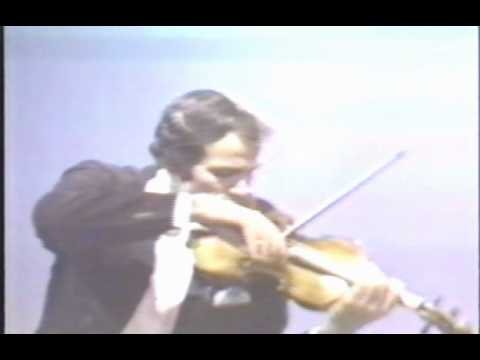 Erick Friedman plays Chanson Louis XIII and Pavane by Fritz Kreisler