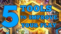 5 FREE Tools to Improve YOUR Hearthstone Play - 5 Tips and Tricks for Hearthstone