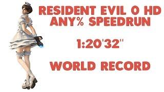 """Resident Evil 0 HD - Any% Speedrun - 1:20'32"""""""