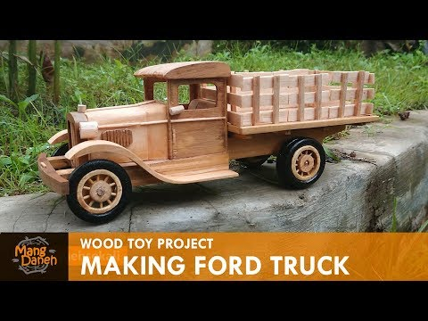 Making  Vintage Ford Truck