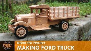 Making  Vintage Ford Truck
