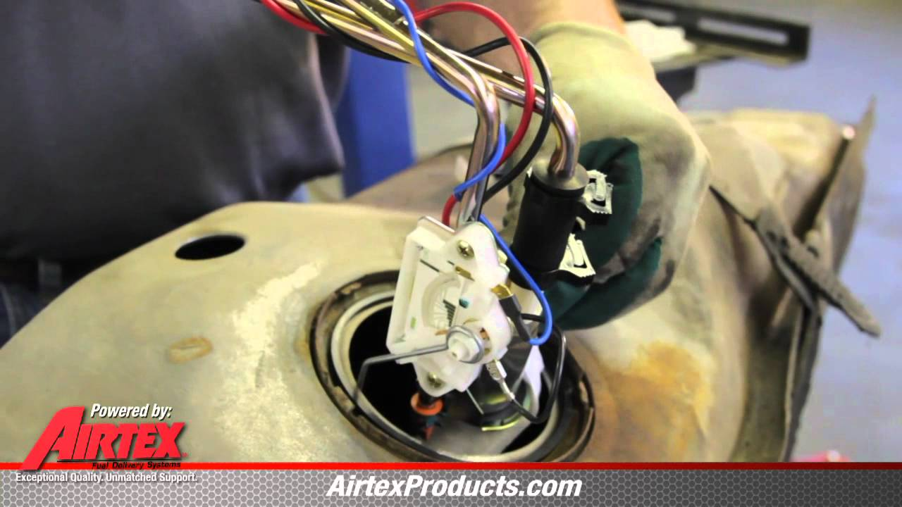 how to install e2148s fuel pump sender assembly in 1985 1986 ford f150 350 truck 302 youtube [ 1280 x 720 Pixel ]