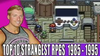 Top 10 Strangest RPGs - 1985 to 1995 Edition (Hidden Gems)