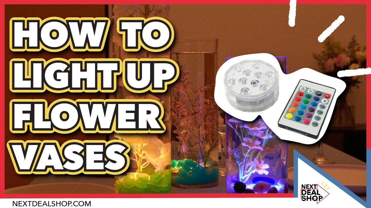 How to make light up flower vases a colorful way to boost home how to make light up flower vases a colorful way to boost home displays next deal shop reviewsmspy