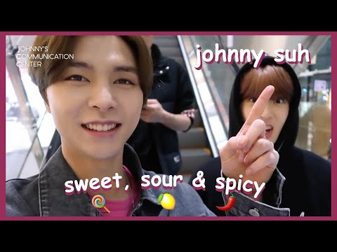 johnny suh sweet, sour, and spicy moments