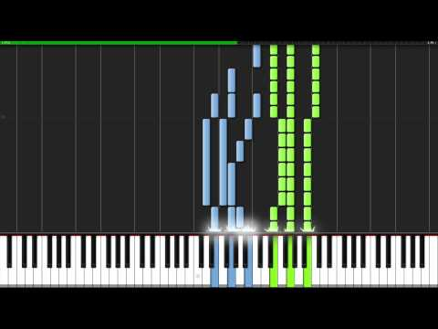 Swan Lake Theme - Pyotr Ilyich Tchaikovsky [Piano Tutorial] (Synthesia)
