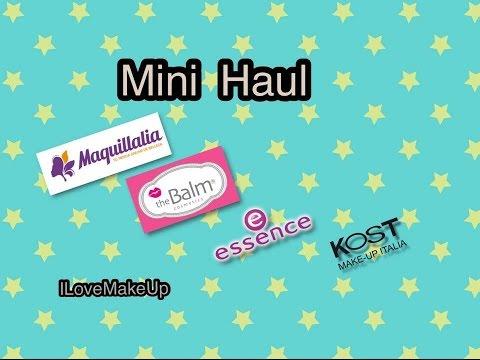 Mini Haul: Maquillalia, The Balm, Essence, Kost