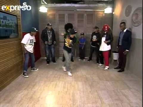 African Hip Hop Indaba group Break Dance  live on expresso (20.08.2012)(3)