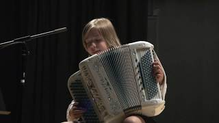 Mozart, Sonate K 545, Accordéon basses chromatiques – Cover Madlyn music 11 ans – Madlyn accordeon