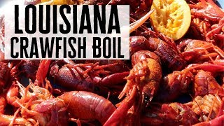 Louisiana Crawfish Boil with the Boil Boss