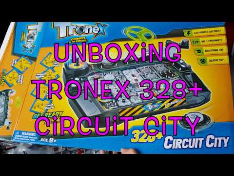 Unboxing Tronex 328+ Circuit City