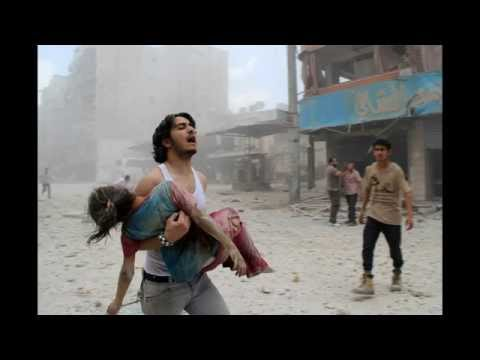 Retrospective in pictures in Syria War : The war of a country destroyed