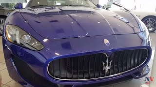 Super Carro Maserati Granturismo 2017 - Quanto Custa nos USA