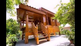 the wooden house design