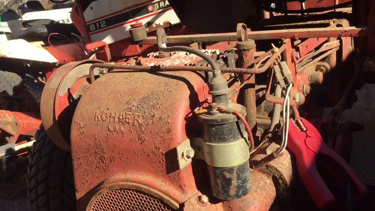 saving an old gravely 812 part 3 crusty electrical system