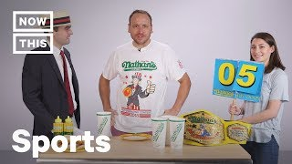 Joey Chestnut on What it Takes to Be a Competitive Eater | NowThis
