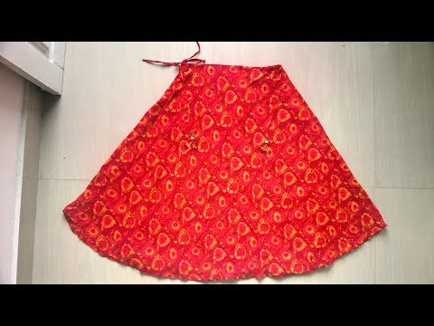 Full umbrella skirt cutting and stitching easy method