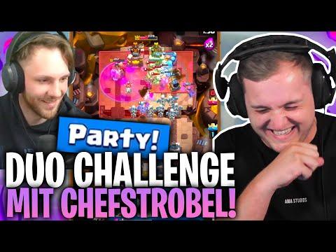 😂😅 WAS macht CHEFSTROBEL da?!  Next Level TACTICS in der PARTY CHALLENGE!