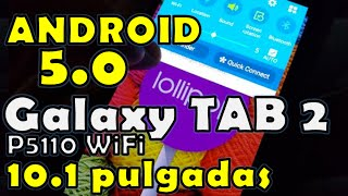 Instalar Android 5.0 [Lollipop] en Galaxy Tab 2 10.1