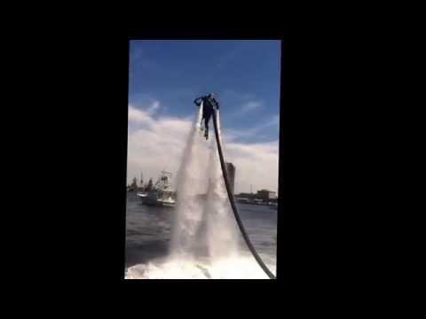 Water Jet Pack Demonstration - Norfolk HarborFest 2014, Norfolk, VA