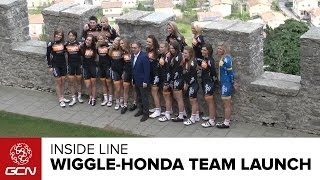 Behind The Scenes At The Wiggle-Honda Team Launch - Inside Line