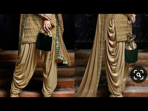 Dhoti Salwar Suits // Latest Dhoti Salwar Suit Designs