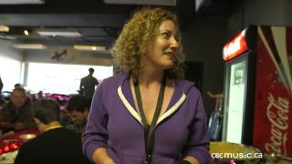 Kathleen Edwards Gives Us a Tour of Tour Food Backstage at CBCMusic.ca Festival