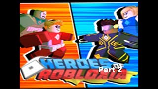 Roblox- Heroes of Robloxia minigame gameplay (part 2)