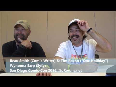 Wynonna Earp Q&A with Beau Smith & Tim Rozon (SDCC 2016)