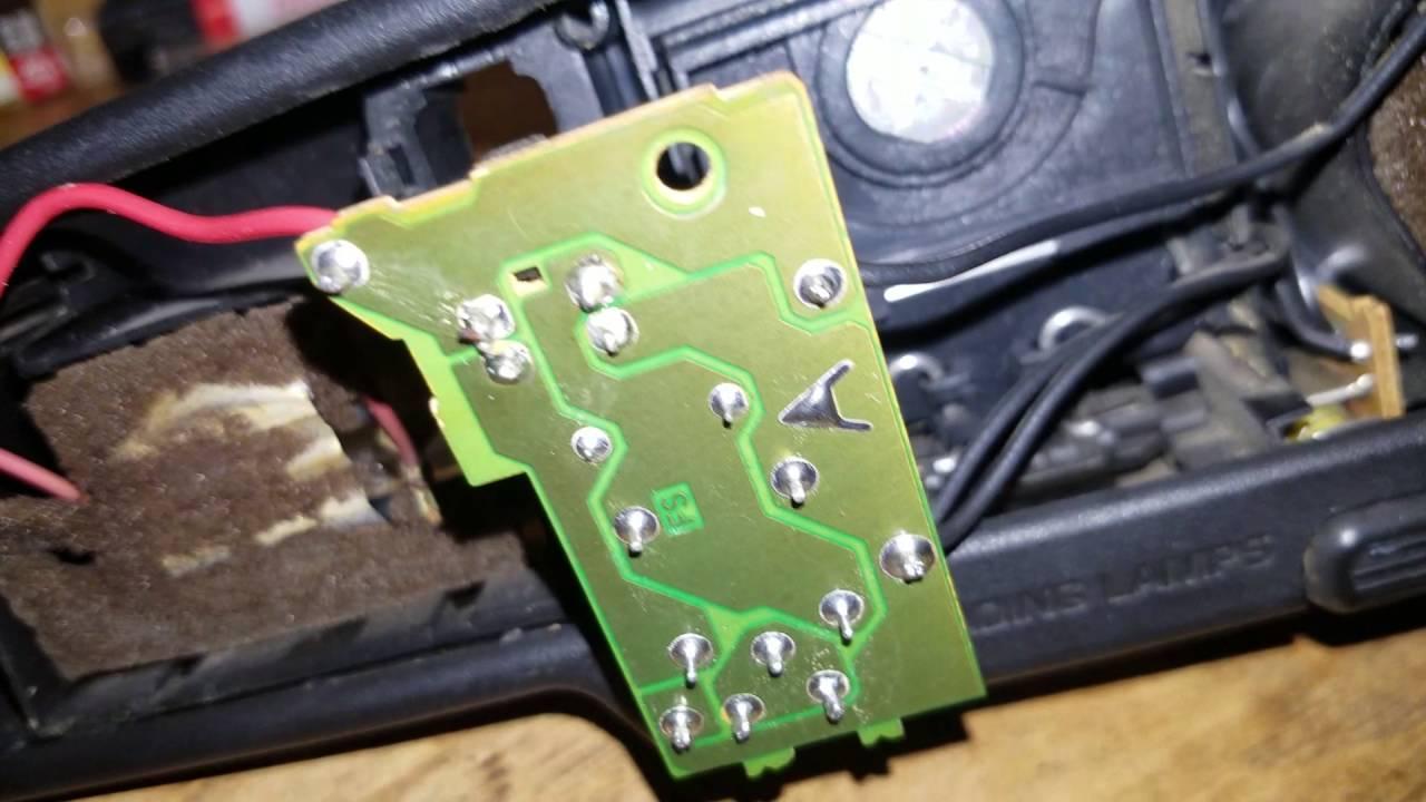 medium resolution of 2000 s10 rear view mirror map lights