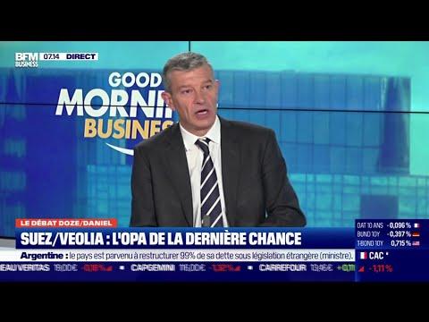 Le débat: Veolia/Suez, l'OPA de la dernière chance