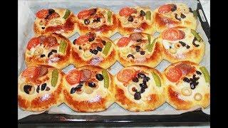 Yumuşacık Pizza Poğaça Tarifi Kolay Pratik Pizza Tarifi
