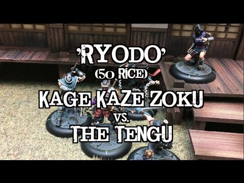Journeys to Jwar - Bushido Battle Report - Ep 04 - Kaze Kage Zoku vs. Tengu