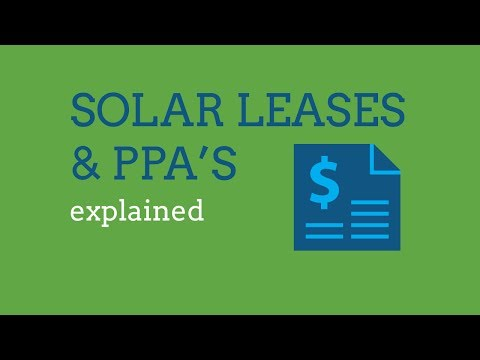 Solar Energy Leasing Explained