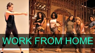 Fifth Harmony 'WORK FROM HOME' Dance Tutorial | andreakswilson