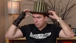 Trying on a Halloween Costume from Spirit Halloween - Steampunk Traveller